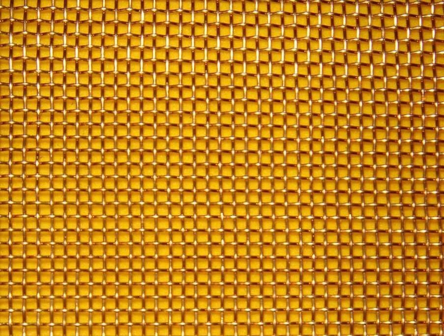 Сетка латунная тканая ячейка 2,0-0,5 мм БрОФ6,5-0,4/Л-80 ГОСТ 6613-86