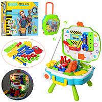 Детский набор  инструментов верстак-чемодан, Bambi (L666-23)