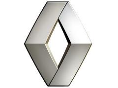 Хромированные молдинги на окна для Renault