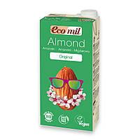 Органическое растительное молоко с миндаля и сиропом агавы Ecomil, 1л