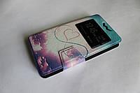 """Универсальный чехол для телефона книжка с рисунком 5.2-5.8"""" №3, фото 1"""