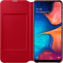 Чехол-книжка Flip Wallet для Samsung Galaxy A20 SM-A205F White (EF-WA205PWEGRU), фото 3