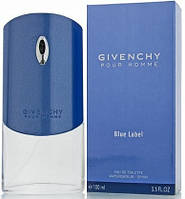 Мужская туалетная вода Pour Homme Blue Label (100 мл ) - ГОЛУБЫЕ