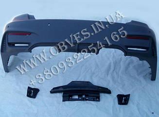 Задний бампер BMW 3-series F30 стиль M3