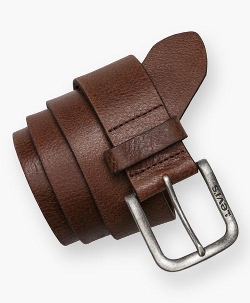 Ремень Levis Leather Belt (черный)