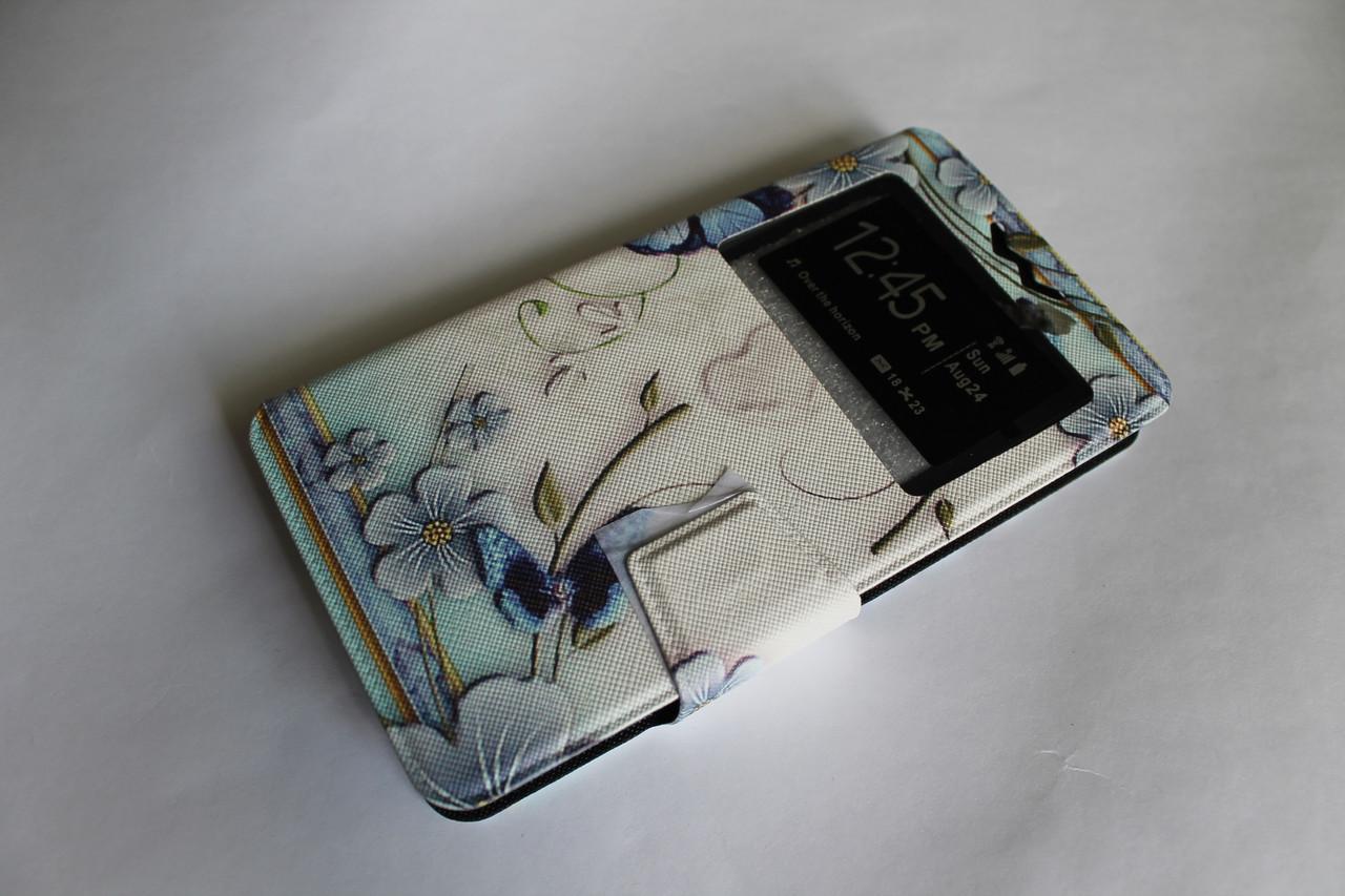 """Универсальный чехол для телефона книжка с рисунком 5.2-5.8"""" №5"""