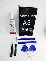 Lcd дисплей модуль Samsung Galaxy A5, A500F, A500FU, A500M, A500Y, A500YZ, фото 1