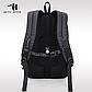 """Мужской влагозащищённый рюкзак Arctic Hunter 20005 для ноутбука до 15,6"""", 23л, фото 2"""