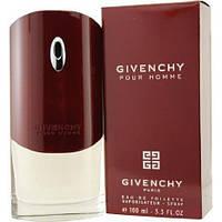 Мужская туалетная вода Givenchy pour Homme  (100 мл ) - БОРДОВЫЕ, фото 1