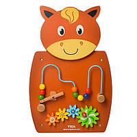 Деревянная игрушка Бизиборд MD 2005  животное, Bambi