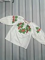 Вышиванки для маленьких девочек Калина