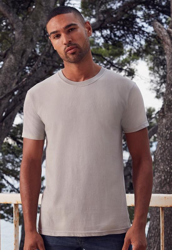 Мягкая и лёгкая мужская футболка 61-430-0