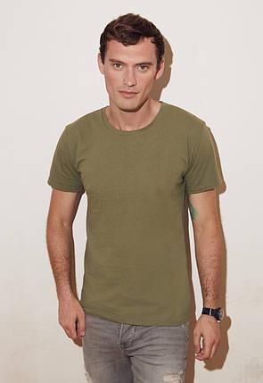 Мягкая и лёгкая мужская футболка 61-430-0, фото 2