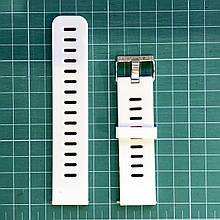 Ремешок для Amazfit Stratos/Pace 22мм white/red (AMZSTR-SIL-2COL-WH-RD)