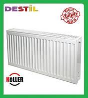 Стальной Панельный Радиатор Köller 300x1100 Боковое Подключение