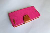 """Универсальный чехол для телефона книжка Remax 5.3-5.7"""" розовый, фото 1"""