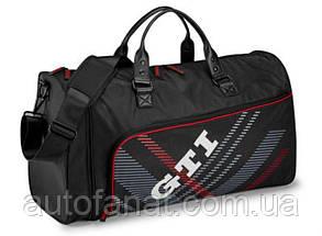 Оригинальная дорожно-спортивная сумка Volkswagen GTI Travel and Sports Bag, Black (5KA087318)