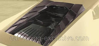 MANSORY engine bonnet with glass panels for Lamborghini Huracan