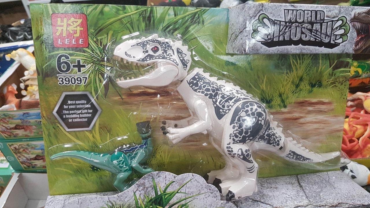 Конструктор Lele 39097-2 Парк Юрского периода Тираннозавр Рекс