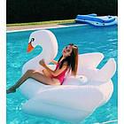 Надувной плот Intex 57557 Лебедь средний, фото 3