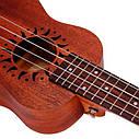 Укулеле сопрано Guitarist UK-XT61 (чехол, струны, копилка, медиатор), фото 7