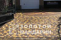 Тортуарная плитка Золотой мандарин Старый город(6см)