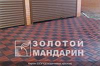 Тортуарная плитка Золотой мандарин Кирпич 200*100(6см)