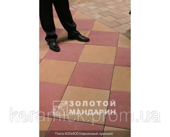 Тортуарная плитка Золотой мандарин Плита 400*400(6см)
