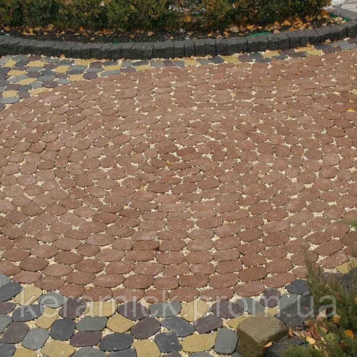 Тортуарная плитка Золотой мандарин Маргарита без фаски(6см)