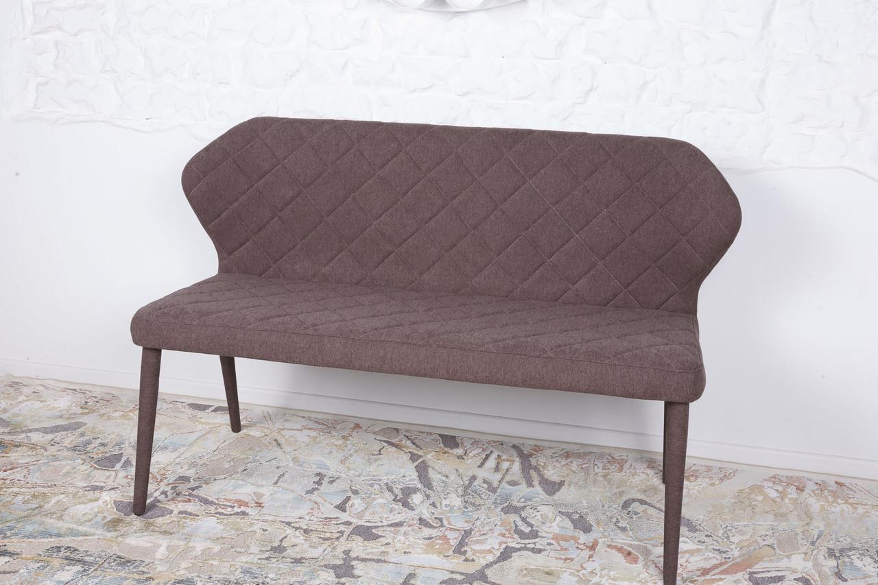 Кресло - банкетка VALENCIA  (Валенсия) коричневая от Niсolas, ткань