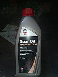 Масло трансмиссионное Comma GEAR OIL EP80W-90 GL4 Mineral 1L (14501616)