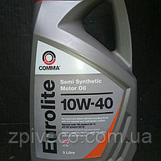 Масло моторне (5L ) COMMA EUROLITE 10W40 5L (напівсинтетична)