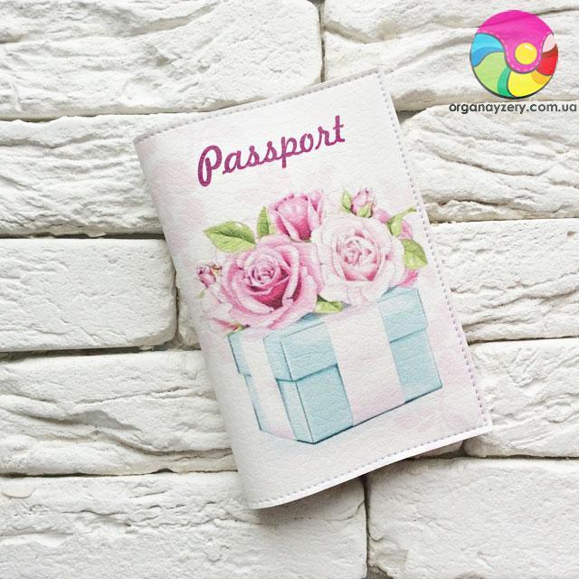Обложка на паспорт Подарок
