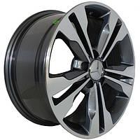 Литые диски Replica Mercedes (CT1416) R17 W8 PCD5x112 ET35 DIA66.6 (HB)