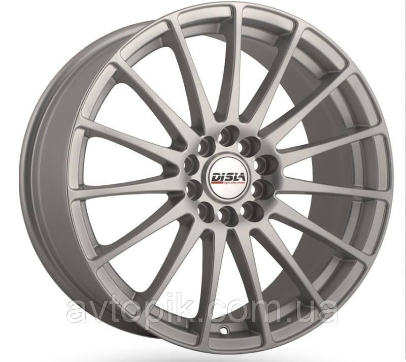 Литые диски Disla Turismo R17 W7.5 PCD5x112 ET45 DIA66.6 (silver)