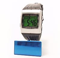 Часы наручные с подсветкой и будильником
