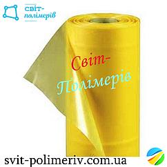 Пленка полиэтиленовая тепличная желтая стабилизированная на 24 месяца