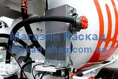 Маслоохладитель, для автобетоносмесителя с электровентилятором и масляным фильтром,
