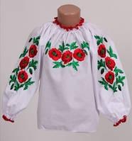 Блузка вышитая для девочки