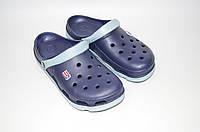Кроксы мужские синие Jose Amorales 116110, фото 1