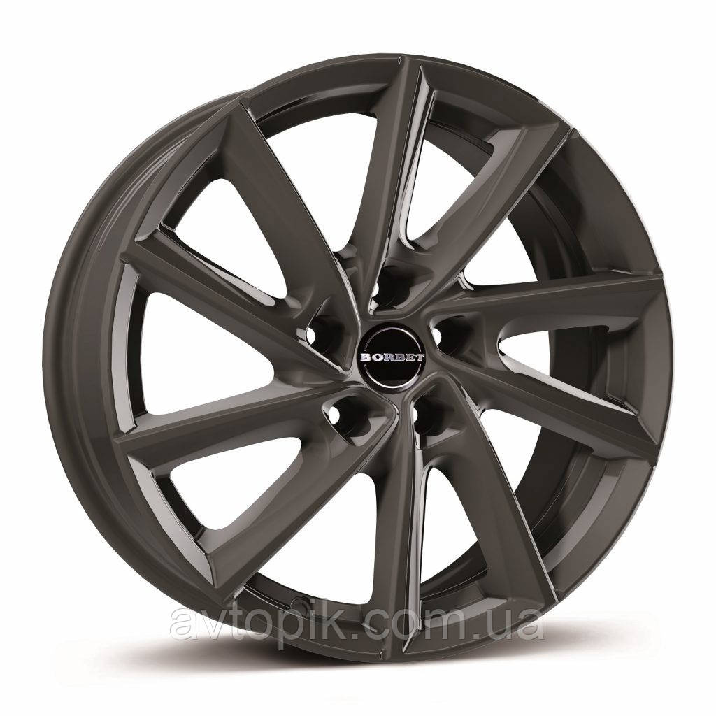 Литые диски Borbet VT R17 W7.5 PCD5x108 ET53 DIA63.4 (mistral anthracite glossy)