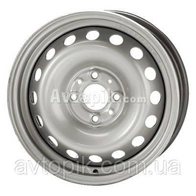 Стальные диски Steel Trebl R15 W6 PCD4x100 ET40 DIA60.1 (silver)