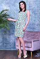 Легкое летнее платье,ткань летний джинс-стрейч,размеры: 44,46,48,50., фото 1
