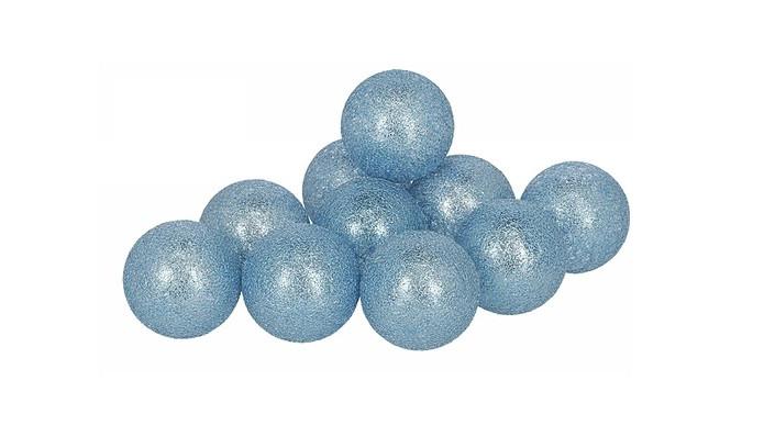 Гирлянды Cotton Balls BlueSylver Тайские Шарики 10led, диам 6см, длина 180см на батарейках АА