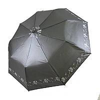Женский зонт-полуавтомат Lantana с напылением, темно-серый цвет, 693-2