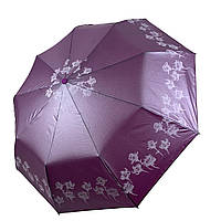 Женский зонт-полуавтомат Lantana с напылением, фиолетовый цвет, 693-3