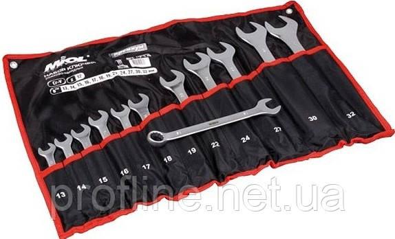 Набор ключей рожково-накидных CRV  17шт Miol 51-716, фото 2