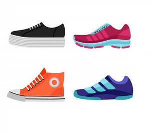 Спортивная женская обувь