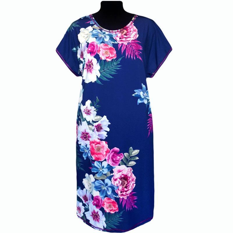 Платье Батал из вискозы