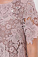 Платье из кружева Элен светлый беж (52-58), фото 5